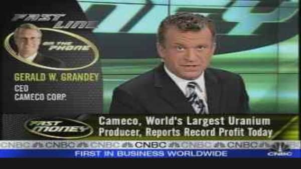 Earnings Edge: Cameco
