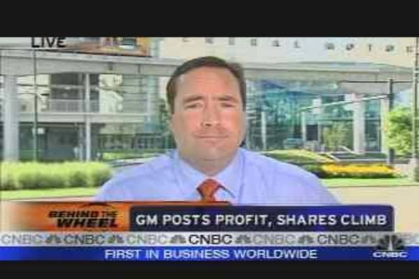 GM Posts Profit