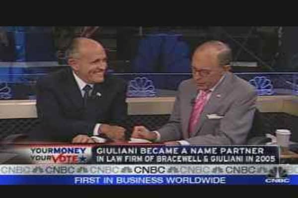 Rudy Giuliani Interview, Pt. 2