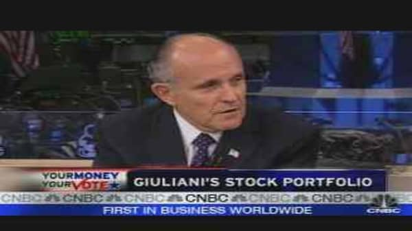 Rudy Giuliani Interview