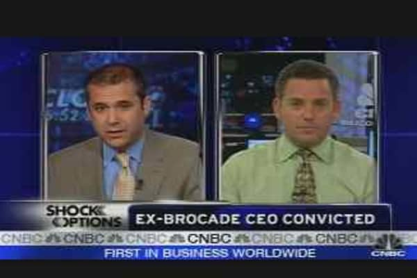 Ex-Brocade CEO Convicted