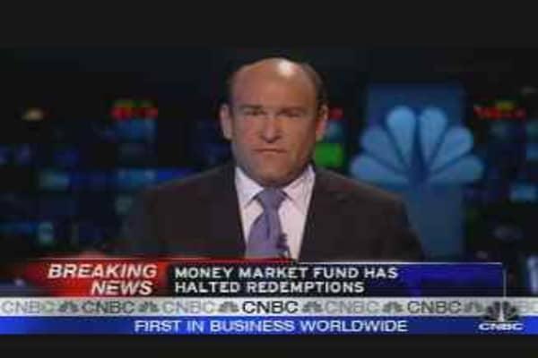 Fund Halts Withdrawals