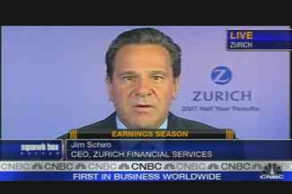 Zurich CEO on Earnings