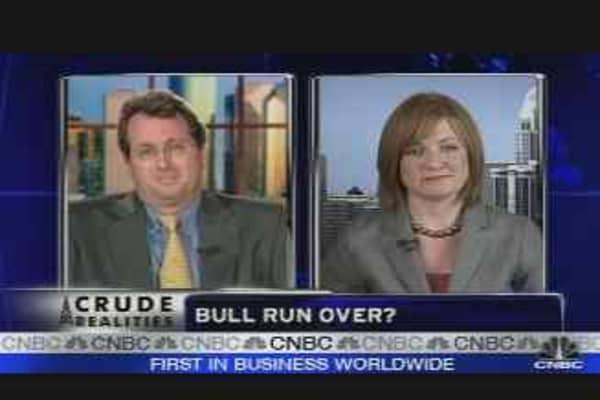 Bull Run Over for Oil?