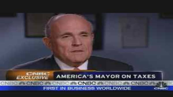 Giuliani's Economic Plan