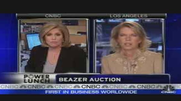 Beazer's Auction