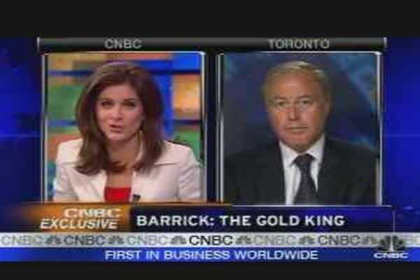 Exclusive: Barrick Gold CEO