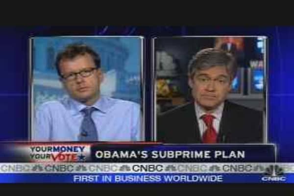 Obama's Subprime Plan