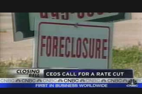 CEOs Call for Rate Cut