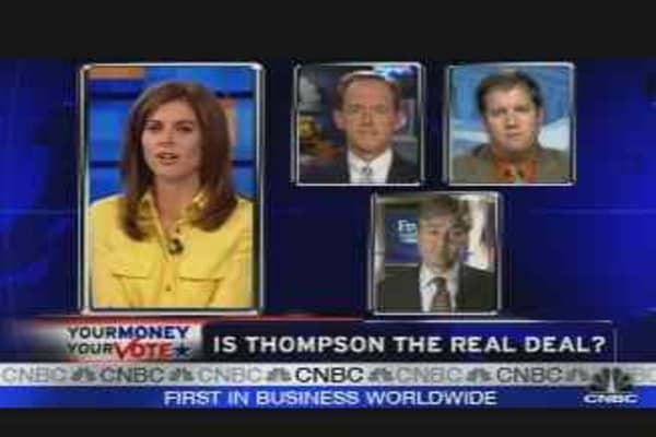 Thompson: The Real Deal?