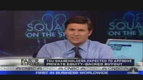 TXU Shareholders to Vote
