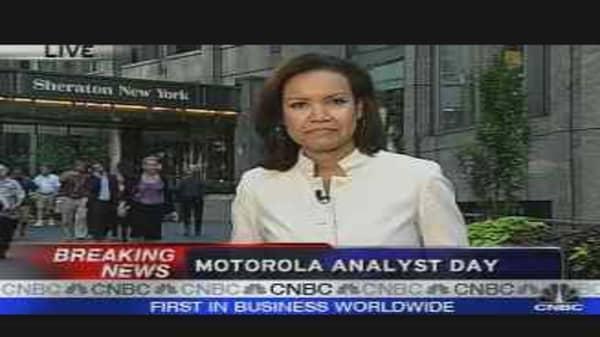 Motorola Analyst Meeting