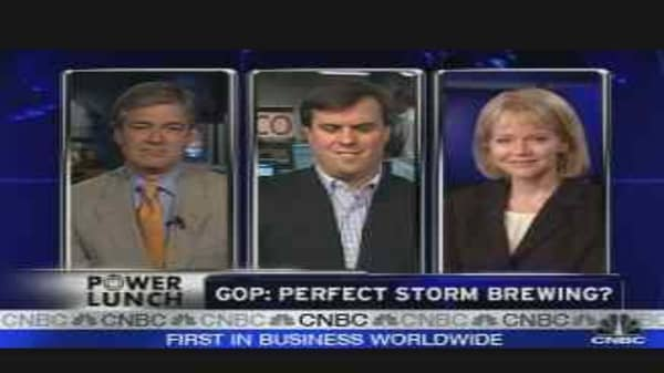 GOP: Perfect Storm Brewing?