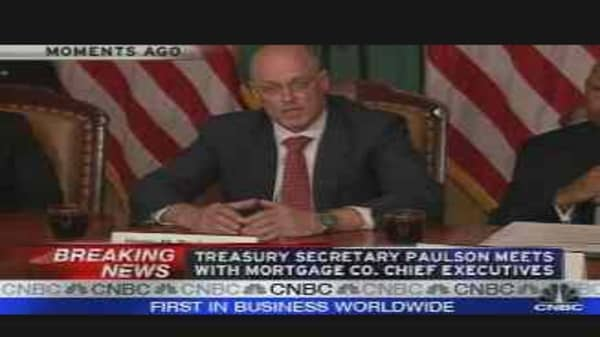 Paulson on Lenders