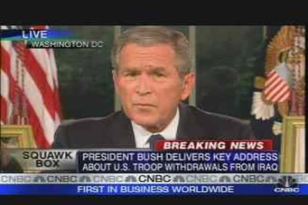 Bush's Iraq Strategy