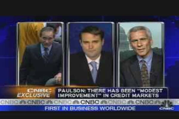 Paulson's Economic Outlook