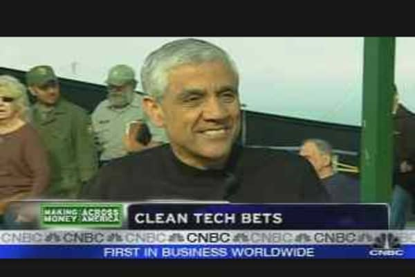 Clean Tech Bets
