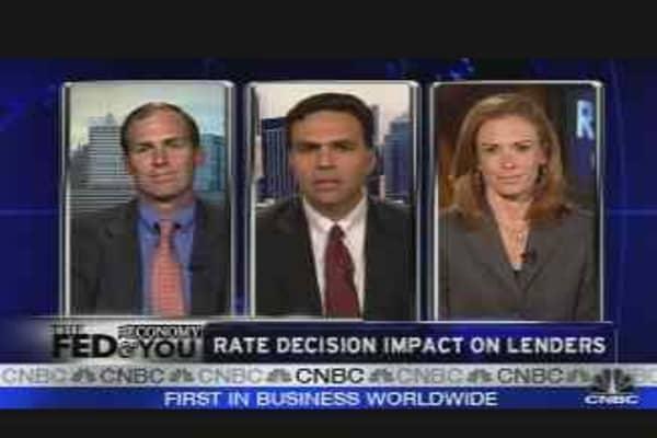 Fed Impact on Lenders
