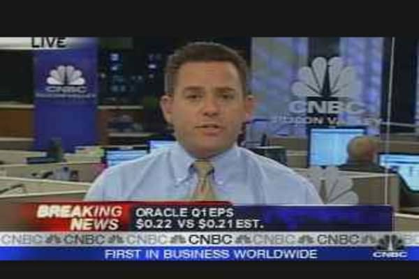 Oracle's Quarterly Results