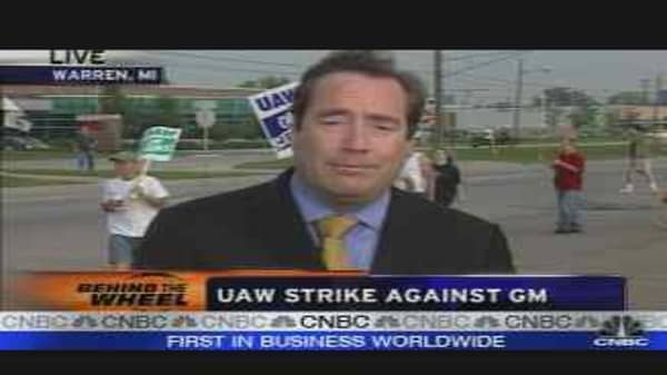 UAW Strike Against GM