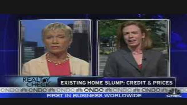 Existing Home Sales Slump