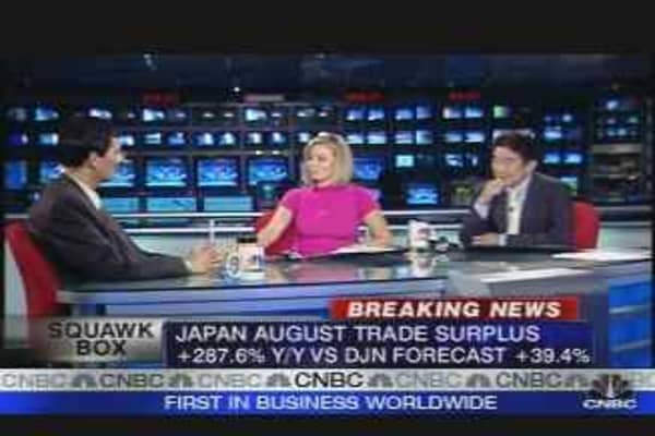 Strong Trade Surplus In Japan