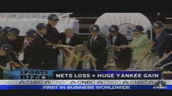 Mets Loss = Yankee Gain