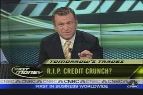 R.I.P. Credit Crunch?