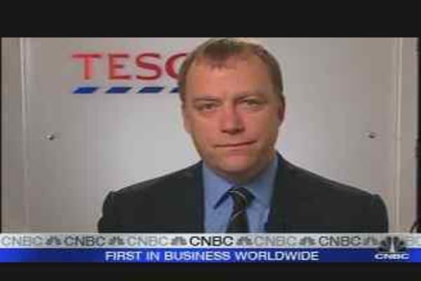 Tesco Reports Global-Sales Boost