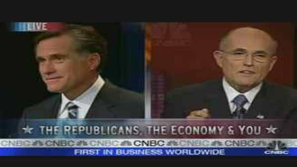 Taxes: Giuliani vs. Romney
