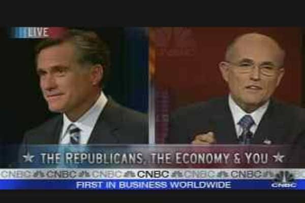 Taxes: Giuliani vs. Romney