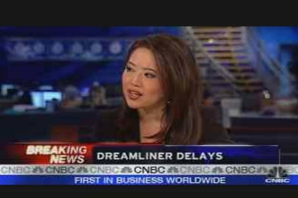 Boeing Delays Dreamliner