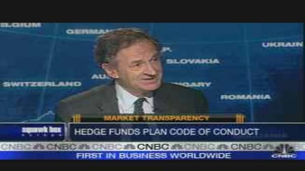 Hedge Funds Plan Code of Conduct