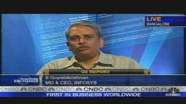 Infosys CEO on Earnings