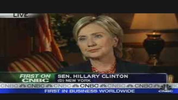 Clinton Speaks