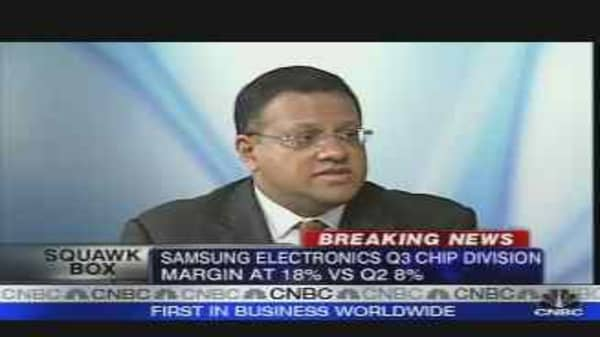 Samsung Electronics Q3 Results