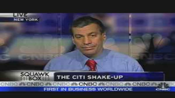 The Citi Shake-Up