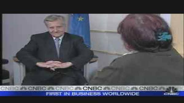Trichet Exclusive: Part 1