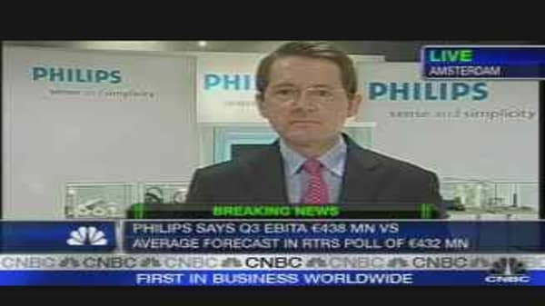 Shares in Philips Fall on Poor Medical Earnings