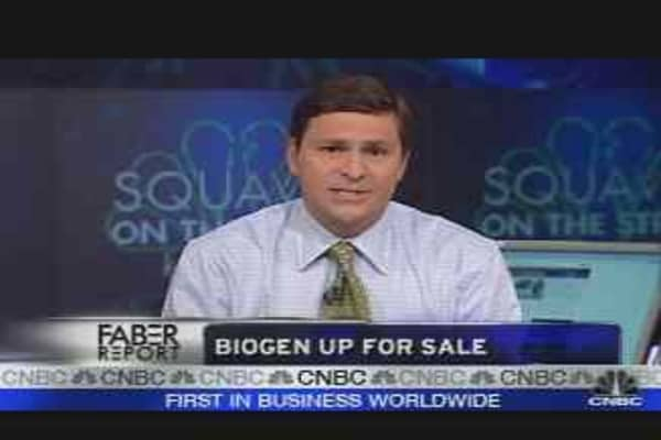 Biogen Up for Sale