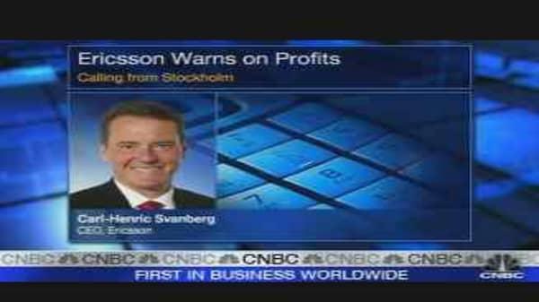 Ericsson CEO on Sales