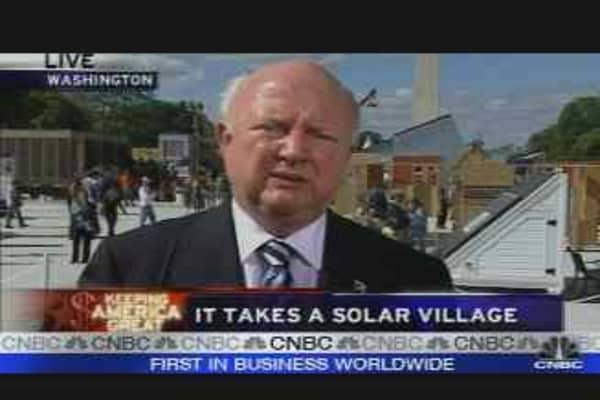 It Takes a Solar Village