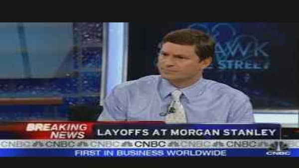 Layoffs at Morgan Stanley