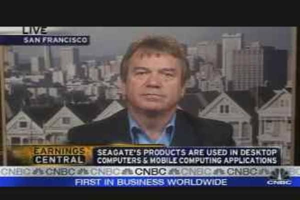 Seagate Earnings