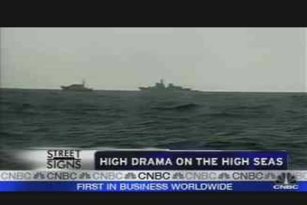 High Drama on the High Seas