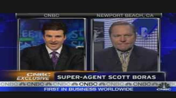 Super-Agent Scott Boras