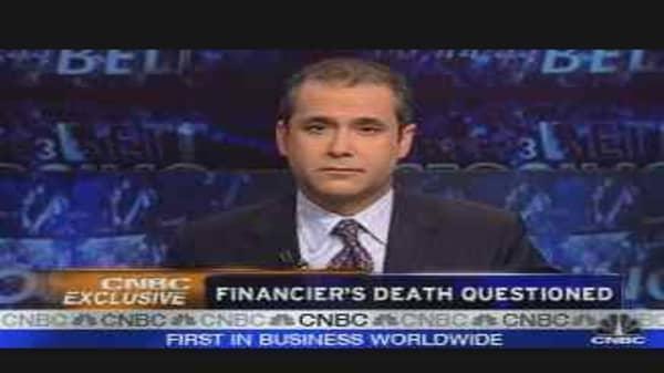 Financier's Death Questioned