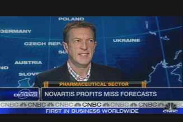 Novartis Profit Misses Forecasts