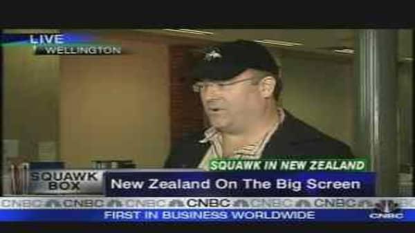 NZ on the Big Screen