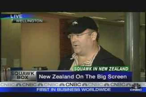 NZ on the Big Screen